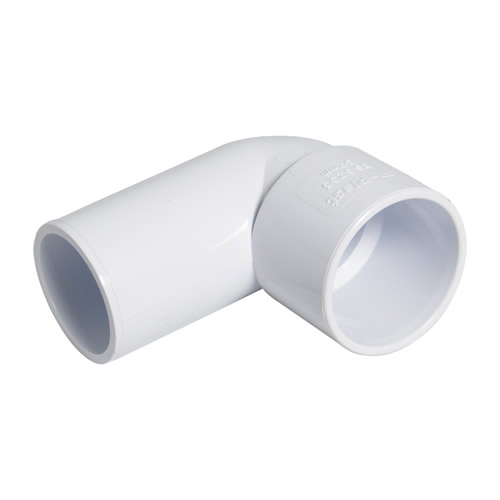 Floplast WS27 Floplast 40mm White ABS 90° Conversion Bend - Pack of 25