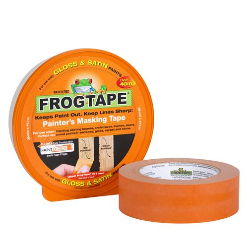 FrogTape 104189 Gloss & Satin 36mm x 41.1m