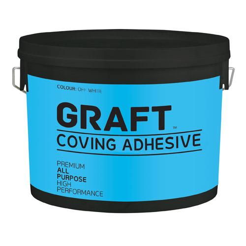 Graft 023WHT Graft Coving Adhesive 4 Litre