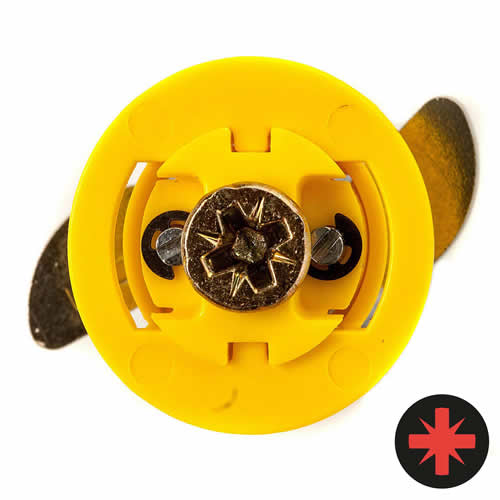 Gripit 15mm Yellow Plasterboard Fixing - Pack of 8