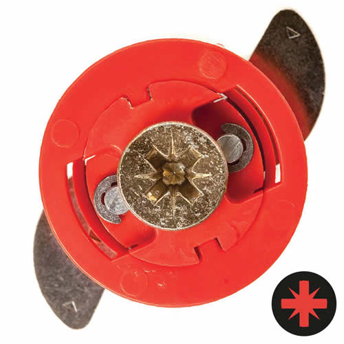 Gripit 182-258 GRIPIT 18mm Red Plasterboard Fixing - Pack of 8