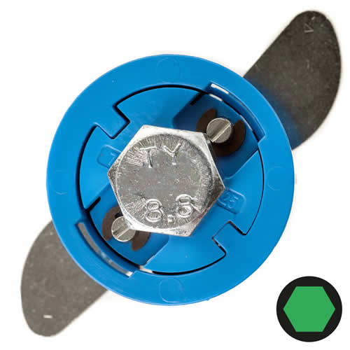 Gripit 252-2530 GRIPIT 25mm Blue Plasterboard Fixing - Pack of 25