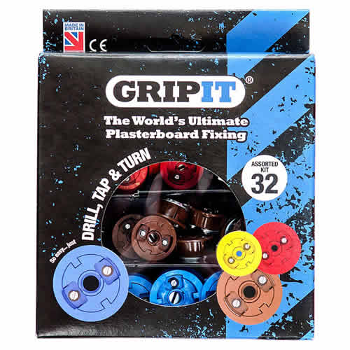 Gripit GASSORTKIT GRIPIT Assorted Kit - Pack of 32
