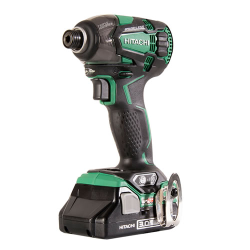 Hitachi WH 18DBDL2/W4 Hitachi 18v Brushless IP56 Impact Driver - Body Only