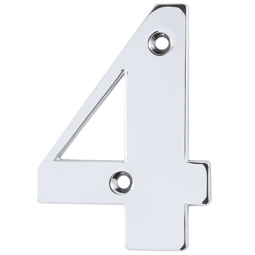 Hoppe 87143652 Door Number 4 - Polished Chrome