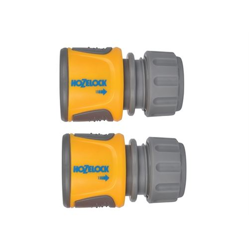 Hozelock 2070 Soft Touch Hose End Connector  Pack of 2