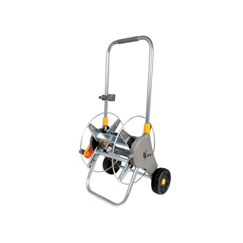 Hozelock 2437 60m Metal Hose Cart - No Hose Supplied