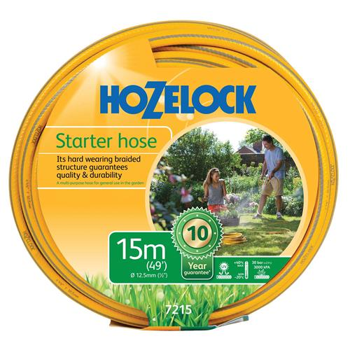 Hozelock 72150000 15m Starter Hose 12,5mm Diameter