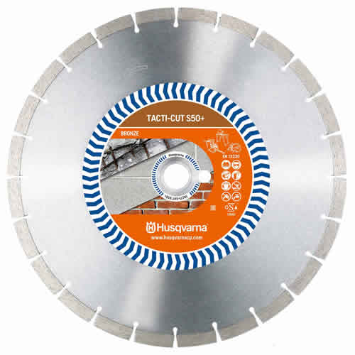 Husqvarna Tacti-Cut S50 Plus Husqvarna Tacti-Cut S50 Plus 350mm Diamond Blade