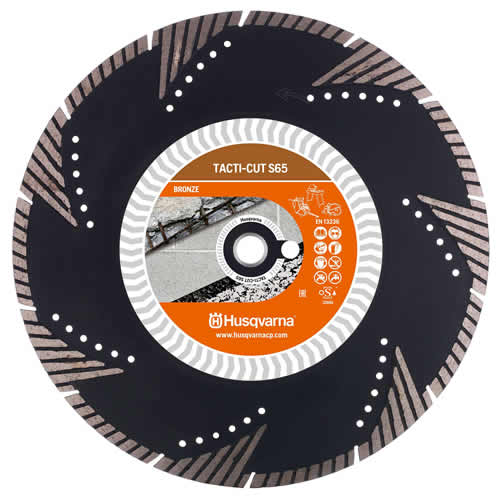 Husqvarna Tacti-Cut S65 Husqvarna Tacti-Cut S65 300mm Diamond Blade