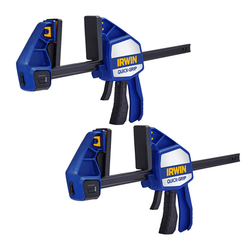 Irwin Quick-Grip Heavy-Duty Clamp 300mm/12'' - Pack of 2