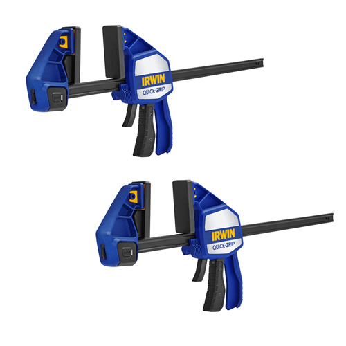 Irwin Quick-Grip Heavy-Duty Clamp 450mm/18'' - Pack of 2
