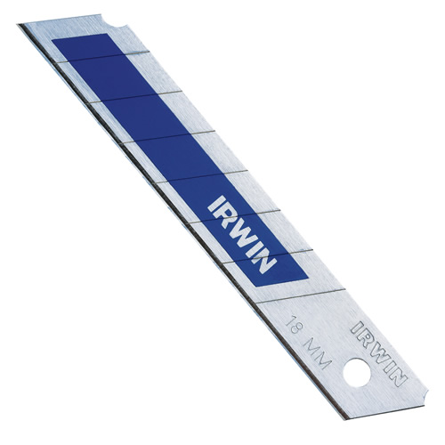 Irwin 10507104 IRWIN Bi-Metal BLUE Snap-Off Blades 18mm - Pack of 50