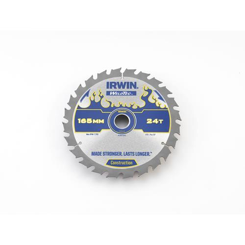 Irwin 1897393 Irwin WeldTec Saw Blade 165mm x 20mm 24T Cordless