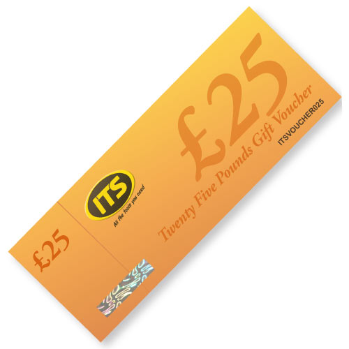 ITS ITSVOUCHER025 ITS Twenty Five Pound Gift Voucher