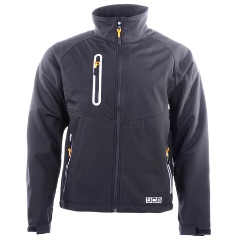 JCB Trade Soft Shell Jacket - Black