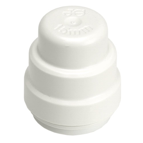 Speedfit PSE4615W Speedfit 15mm Stop End - Pack of 10