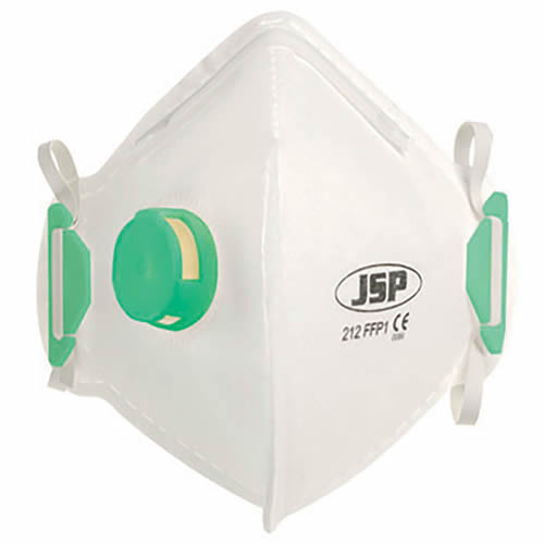 JSP BEB110-101-000 JSP OLYMPUS FoldFlat Disposable Dust Mask FFP1- Valved