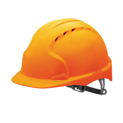 JSP EVO2O JSP EVO2 Safety Helmet Vented with Slip Ratchet (Orange)