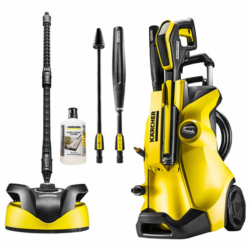 K4 Full Control Home Pressure Washer 240 Volts