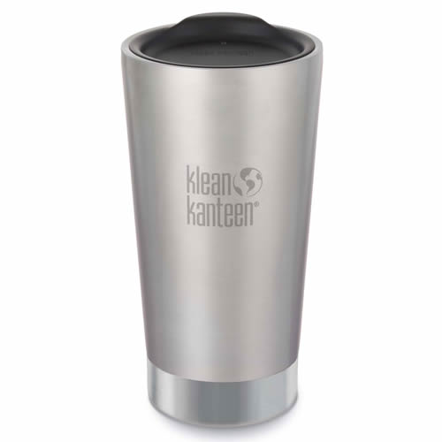 Klean Kanteen K16VSSC-BS Klean Kanteen 473ml Vacuum Insulated Tumbler - Brushed Stainless