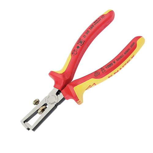 Knipex 31930 VDE Wire Stripping Pliers 160mm
