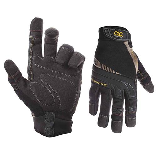 Kunys 130L Contractor Flex Grip Gloves - Large