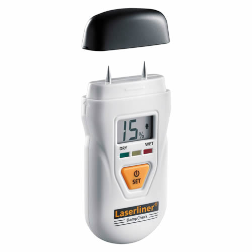 Laserliner 082.003A DampCheck Compact Moisture Measuring Device
