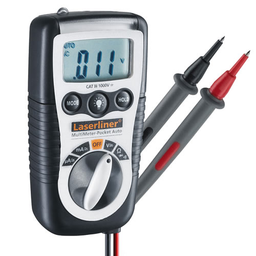 Laserliner 083.032A Pocket Size MultiMeter With Continuity Tester