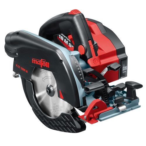 Mafell 919221 18v 168mm Circular Saw with 2 x 5.5Ah Batteries, Charger and Case