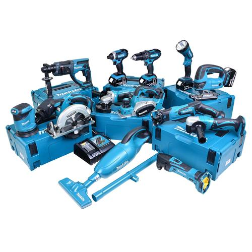 Makita 13BTJ Makita 18v Li-ion 5.0Ah 13 Piece Kit