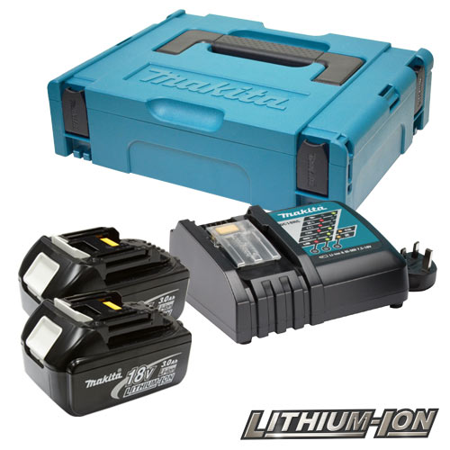 Makita POWER3 (240v) Makita 18V 3.0Ah Power Pack (240v Charger)