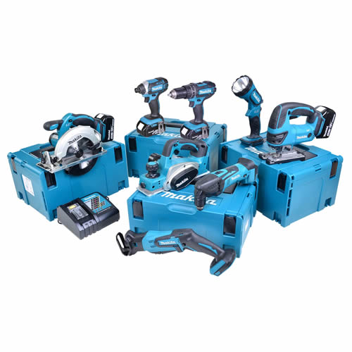 Makita 8CTJ Makita 18v Li-ion 5.0Ah 8 Piece Kit