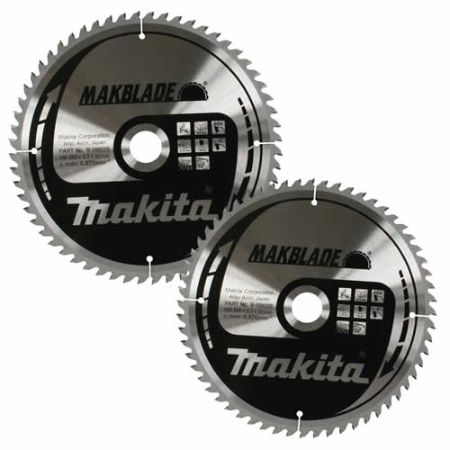 Makita B315PK2 Pack of 2 Makita 315mm Circular Saw Blades
