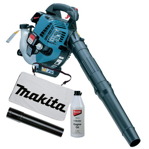 Makita BHX2501KIT Makita 4 Stroke Hand Held Blower c/w Bag & Oil