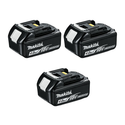 Makita BL1840BPK3 Makita Battery 18v 4.0ah Lithium-ion (Wtih Battery Indicator) Triplepack