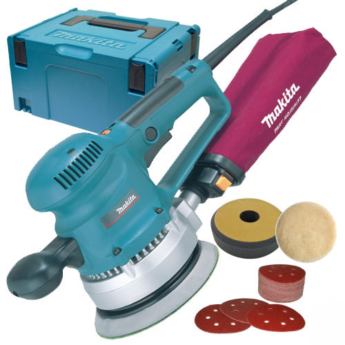 Makita BO6030JX1 Makita 150mm Random Orbit Sander