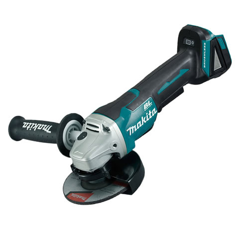 Makita DGA508Z Makita 18v 125mm LXT Li-ion Brushless Grinder with Paddle Switch - Body Only