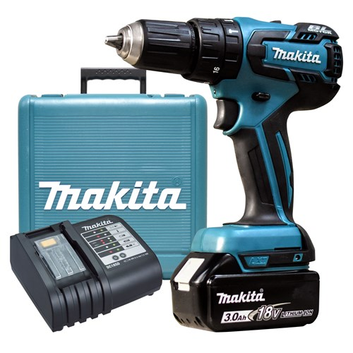 Makita DHP459SF 18v Brushless Combi Drill (1 x 3ah)