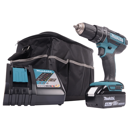 Makita DHP482KIT 18v Li-ion Combi Drill - Kit