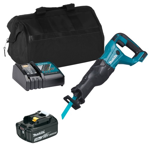 Makita DJR186ITS 18v LXT Reciprocating Saw with 1 x 3Ah Battery, Charger and Bag