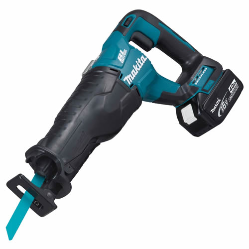 Makita DJR187Z4 Makita Li-ion 18v Brushless Reciprocating Saw (1 x 4.0Ah)