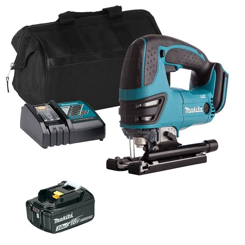 Makita DJV180ITS 18v LXT Jigsaw with 1 x 3Ah Battery, Charger and Bag
