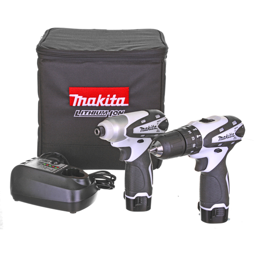 Makita DK1493WX Makita 10.8v Cordless Lithium-Ion 2 Piece Kit