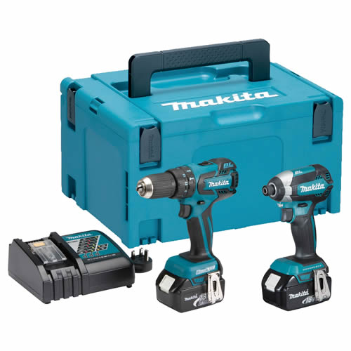 Makita DLX2173TJ Makita 18v Li-ion 5.0Ah Brushless 2 Piece Kit