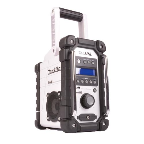 Makita DMR104W Makita DAB Job Site Radio (White)
