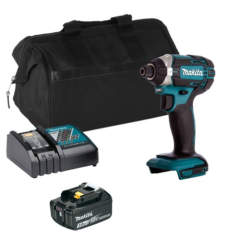 Makita DTD152ITS 18v LXT Impact Driver with 1 x 3Ah Battery, Charger and Bag