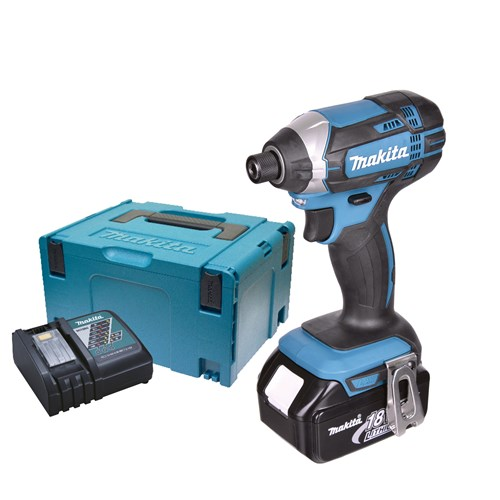 Makita DTD152RJX 18v LXT Impact Driver with 1 x 3Ah Battery, Charger and Case