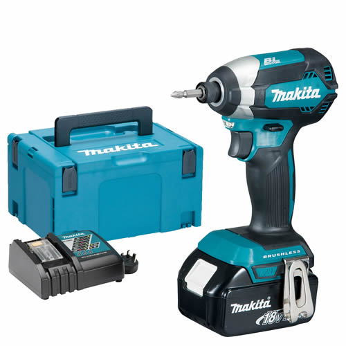 Makita DTD153RJX Makita 18v Li-ion 3.0Ah Cordless Brushless Impact Driver