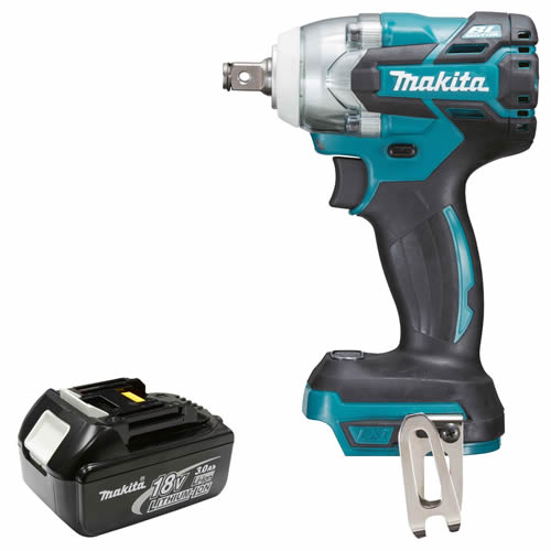 Makita DTW285Z3 Makita 18v Lithium-ion Impact Wrench Body + 3.0Ah Battery